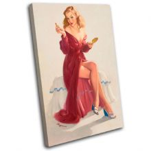 Vintage Girl Retro Pin-ups - 13-2095(00B)-SG32-PO